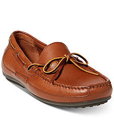 Polo Ralph Lauren Men's Roberts Tumbled Leather Drivers