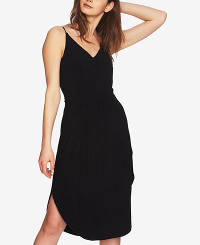 1.STATE Spaghetti-Strap Slip Dress