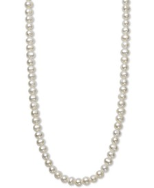 """Children's 14"""" Cultured Freshwater Pearl (5mm) Collar Necklace"""