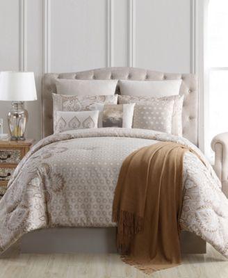 Kagney 10-Pc. Full Comforter Set