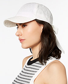 I.N.C. Bow-Back Baseball Cap, Created for Macy's