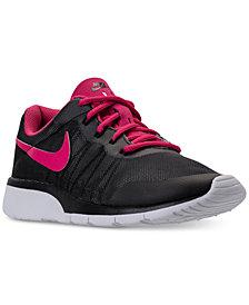 Nike Big Girls'  Tanjun Racer Casual Sneakers from Finish Line