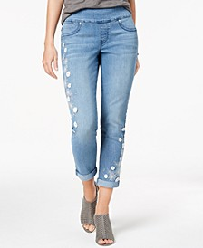 Embellished Boyfriend Jeans, Created for Macy's
