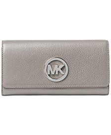 MICHAEL Michael Kors Fulton Pebble Leather Wallet