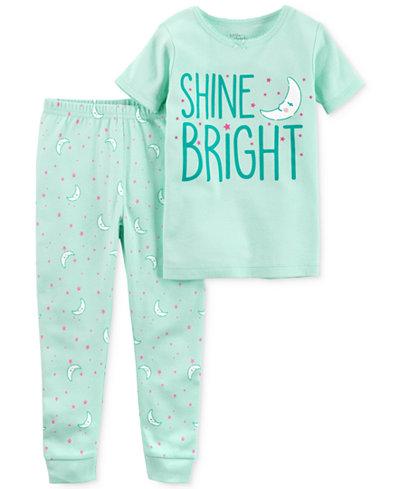 Carter's Little Planet Organics 2-Pc. Shine Bright Cotton Pajama Set, Baby Girls