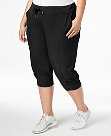 Plus Size Seamed Cuffed Joggers