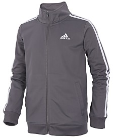 adidas Iconic Zip-Up Tricot Jacket, Little Boys