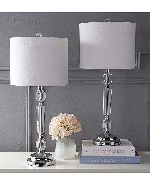 Jonathan Y Set Of 2 Victoria Table Lamps Amp Reviews All