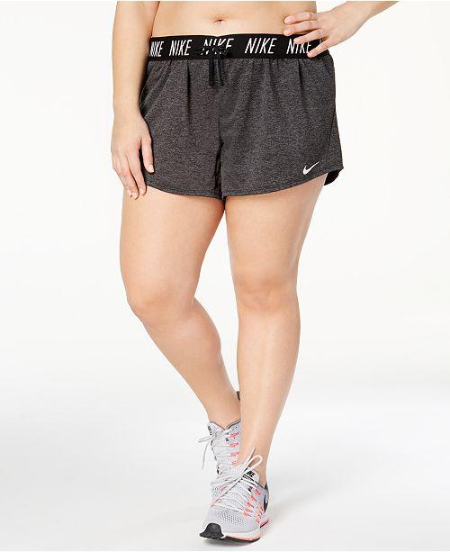 479bbdfb13a Nike Plus Size Flex Dri-FIT Training Shorts   Reviews - Shorts - Plus ...