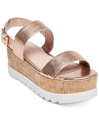 Sugar Flatform Sandals by Madden Girl