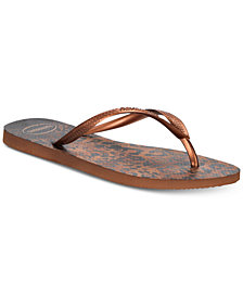 Havaianas Women's Slim Animal Flip Flops