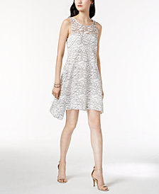 Robbie Bee Petite Sleeveless Lace Shift Dress