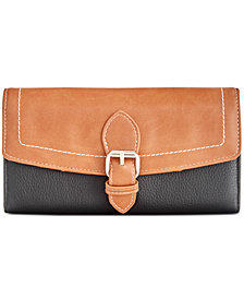 Giani Bernini Leather Receipt Manager Wallet, Created for Macy's