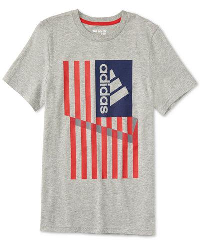 adidas Graphic-Print Cotton T-Shirt, Toddler Boys