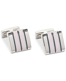 Ryan Seacrest Distinction™ Men's Mosaic Enamel Cuff Links, Created for Macy's