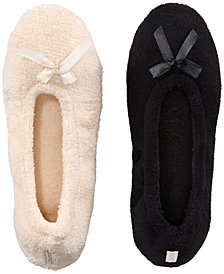 Gold Toe Women's 2-Pk. Ballerina Slippers