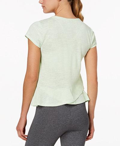Calvin Klein Performance Overlapping-Back T-Shirt