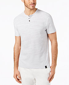 DKNY Men's Engineered Henley T-Shirt, Created for Macy's