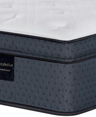 "Belvedere 15.5"" Luxury Plush Euro Top Hybrid Mattress - Twin, Created for Macy's"