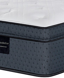 "MacyBed Lux Belvedere 15.5"" Luxury Plush Euro Top Hybrid Mattress - California King, Created for Macy's"