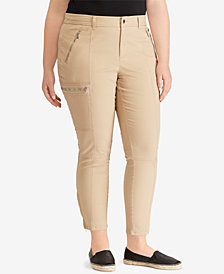 Lauren Ralph Lauren Plus Size Stretch Twill Pants
