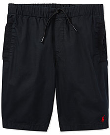 Polo Ralph Lauren Pull-On Cotton Shorts, Big Boys