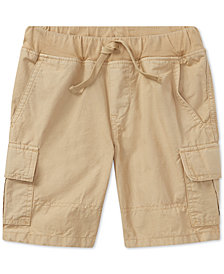 Polo Ralph Lauren Cotton Cargo Shorts, Little Boys