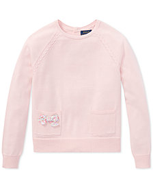 Polo Ralph Lauren Cotton Sweater, Big Girls
