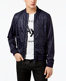 A|X Armani Exchange Men's Shashiko Jacket
