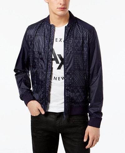 Armani Exchange Men's Shashiko Jacket