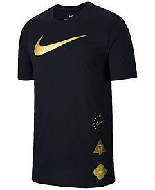 Nike Men's Dri-FIT Metallic-Logo T-Shirt