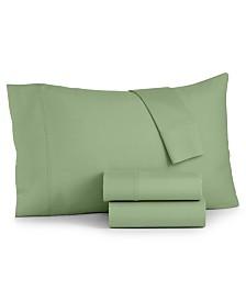 Bari 4-Pc. Solid King Sheet Set, 350 Thread Count Cotton Blend