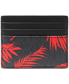 Michael Kors Men's Palm-Print Card Case