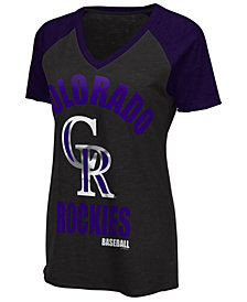 G-III Sports Women's Colorado Rockies Game On T-Shirt