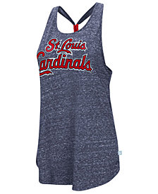 G-III Sports Women's St. Louis Cardinals Bleacher Tank