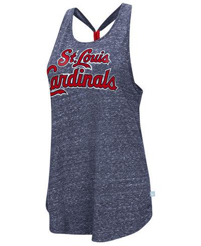 G-III Sports Women's St. Louis Cardinals Bleacher Tank