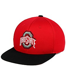 Top of the World Boys' Ohio State Buckeyes Maverick Snapback Cap