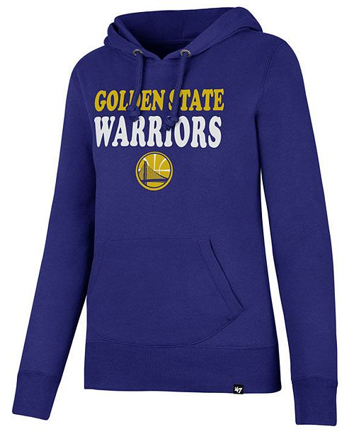 ...  47 Brand Women s Golden State Warriors Wordmark Headline Hoodie    ... 83ee023ed