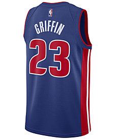 Nike Men's Blake Griffin Detroit Pistons Icon Swingman Jersey