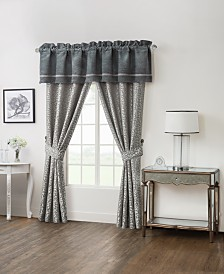 "Waterford Ansonia 55"" x 18"" Tailored Window Valance"