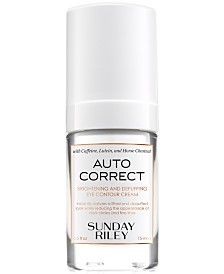 Sunday Riley Auto Correct Brightening & Depuffing Eye Contour Cream, 0.5 fl. oz.