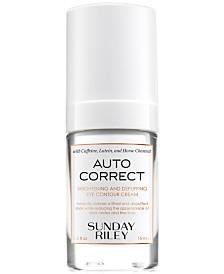 Sunday Riley Auto Correct Brightening & Depuffing Eye Contour Cream, 0.5 fl. oz.