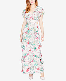 RACHEL Rachel Roy Ruffled Floral-Print Dress, Created for Macy's