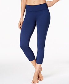 Gaiam Aster Cutout Cropped Yoga Leggings