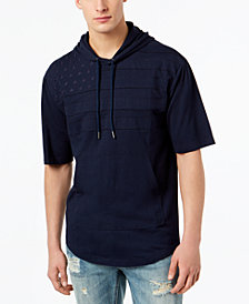 American Rag Men's Tonal Flag Hoodie, Created for Macy's