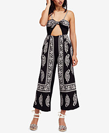 Free People Feel The Sun Cutout Jumpsuit
