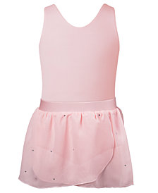 Flo Dancewear Bow Back Leotard & Wrap Skirt Separates, Toddler, Little & Big Girls