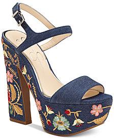 Jessica Simpson Divela Platform Sandals