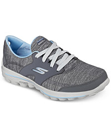 Skechers Women's GOwalk 2 Golf - Backswing Athletic Golf Sneakers from Finish Line