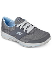4ba3e11aaa2 Skechers Women s GOwalk 2 Golf - Backswing Athletic Golf Sneakers from  Finish Line